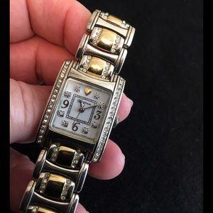 Brighton Two Tone Turin Bracelet Watch
